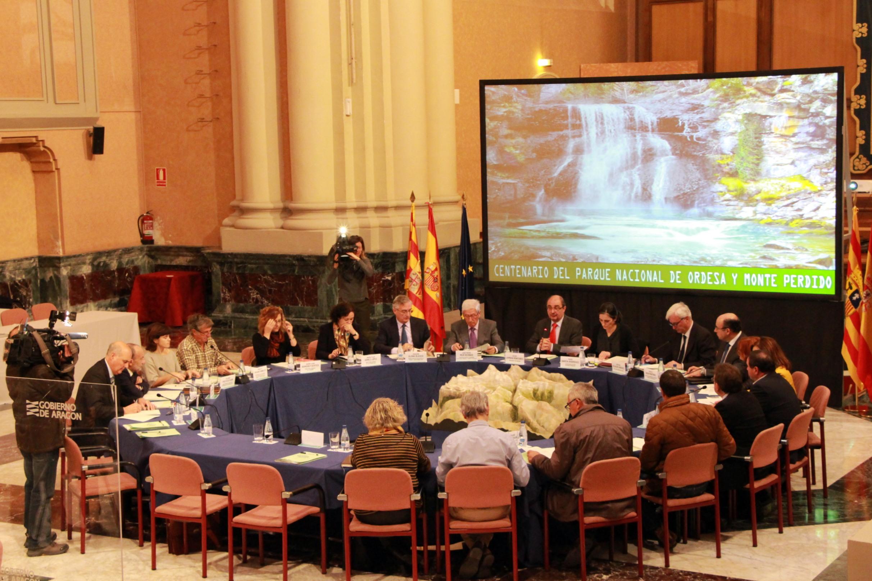 El MAPAMA y el Gobierno de Aragón ponen en marcha la Comisión para la celebración del Centenario del Parque Nacional de Ordesa y Monte Perdido (Huesca)