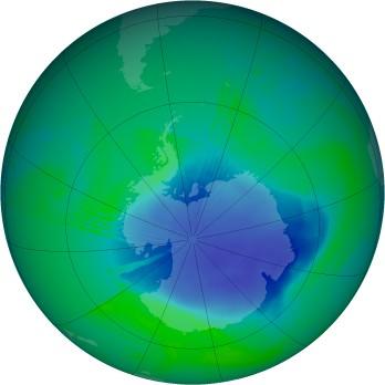 Relación recíproca entre la capa de ozono y el cambio climático
