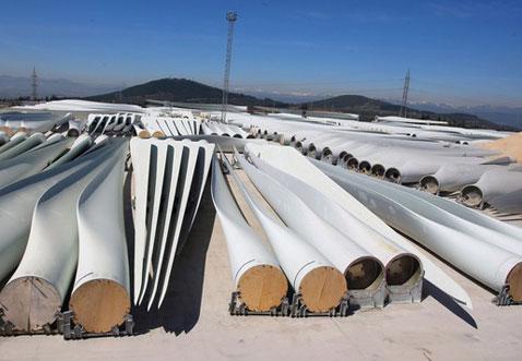 La energía eólica y el reciclaje