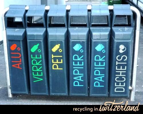 La paradoja suiza del reciclaje