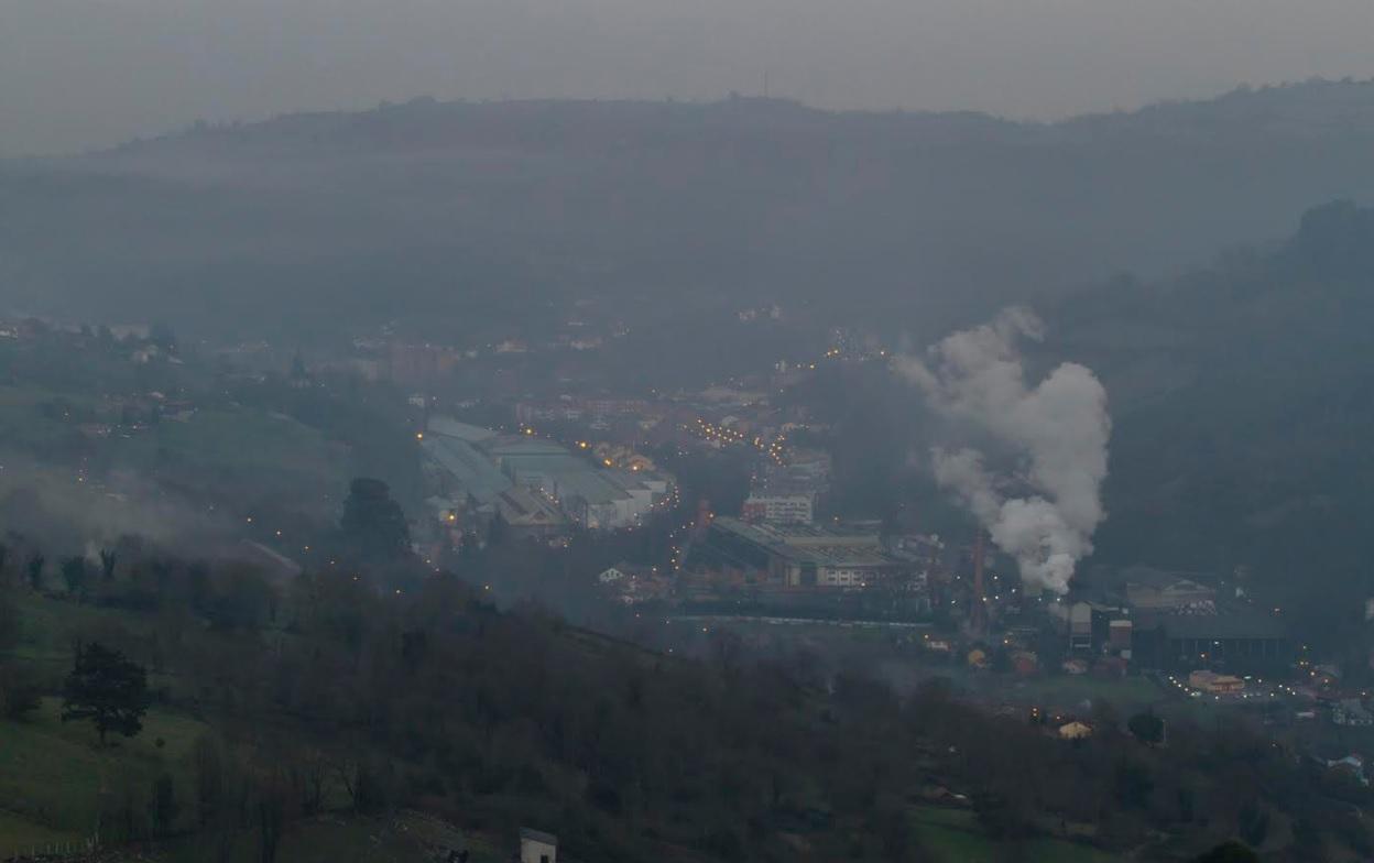 Hasta el Día de San Mateo se dispara el cancerigeno benceno en Oviedo