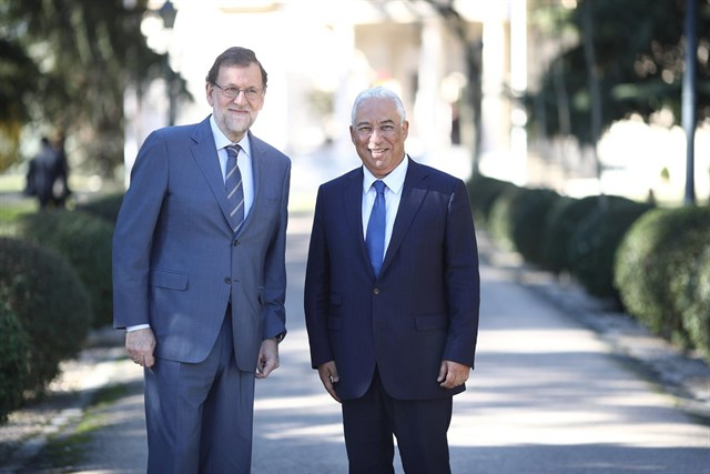 Rajoy ofrece al primer ministro portugués