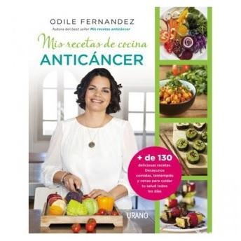 'Mis recetas de cocina anticáncer', el libro que debe estar en tu estantería