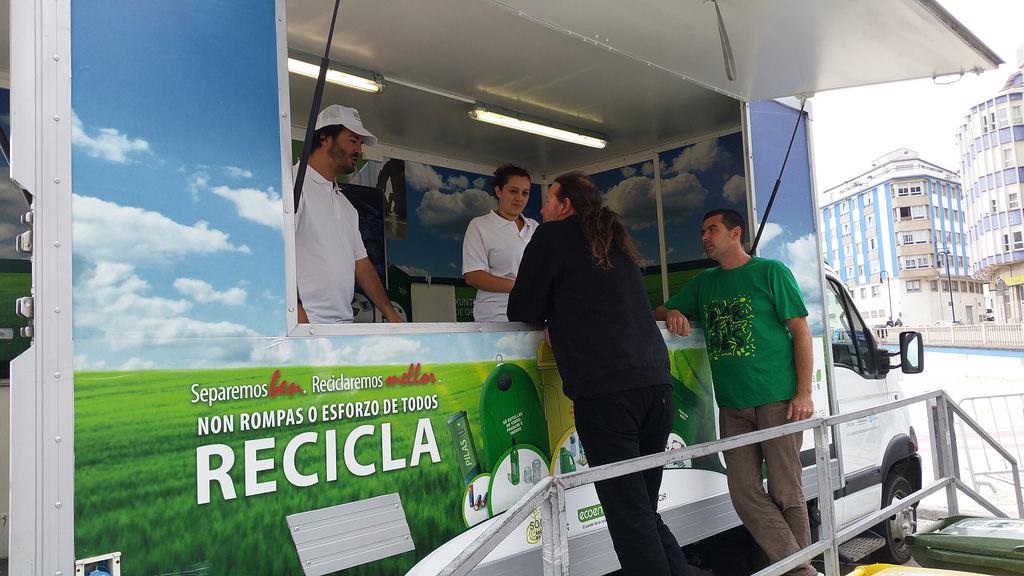 O Porriño, próximo destino de la campaña autonómica del reciclaje