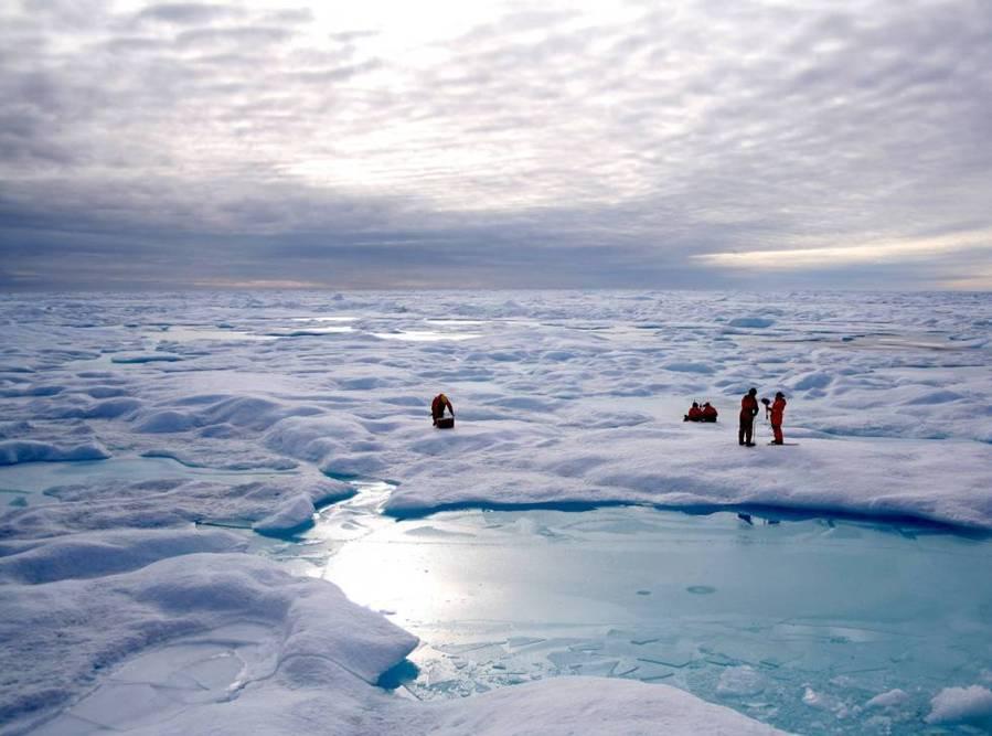 El Polo Norte hace 4 millones de años apenas tenía hielo