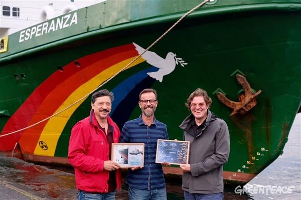 El cine navegará a bordo del barco Esperanza