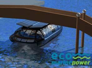 Eco Marine starts development of eco solar ferry Medaka