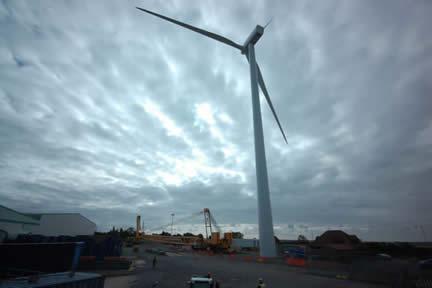 Andalucía fue la comunidad en la que más megavatios de energía eólica se instalaron en 2013