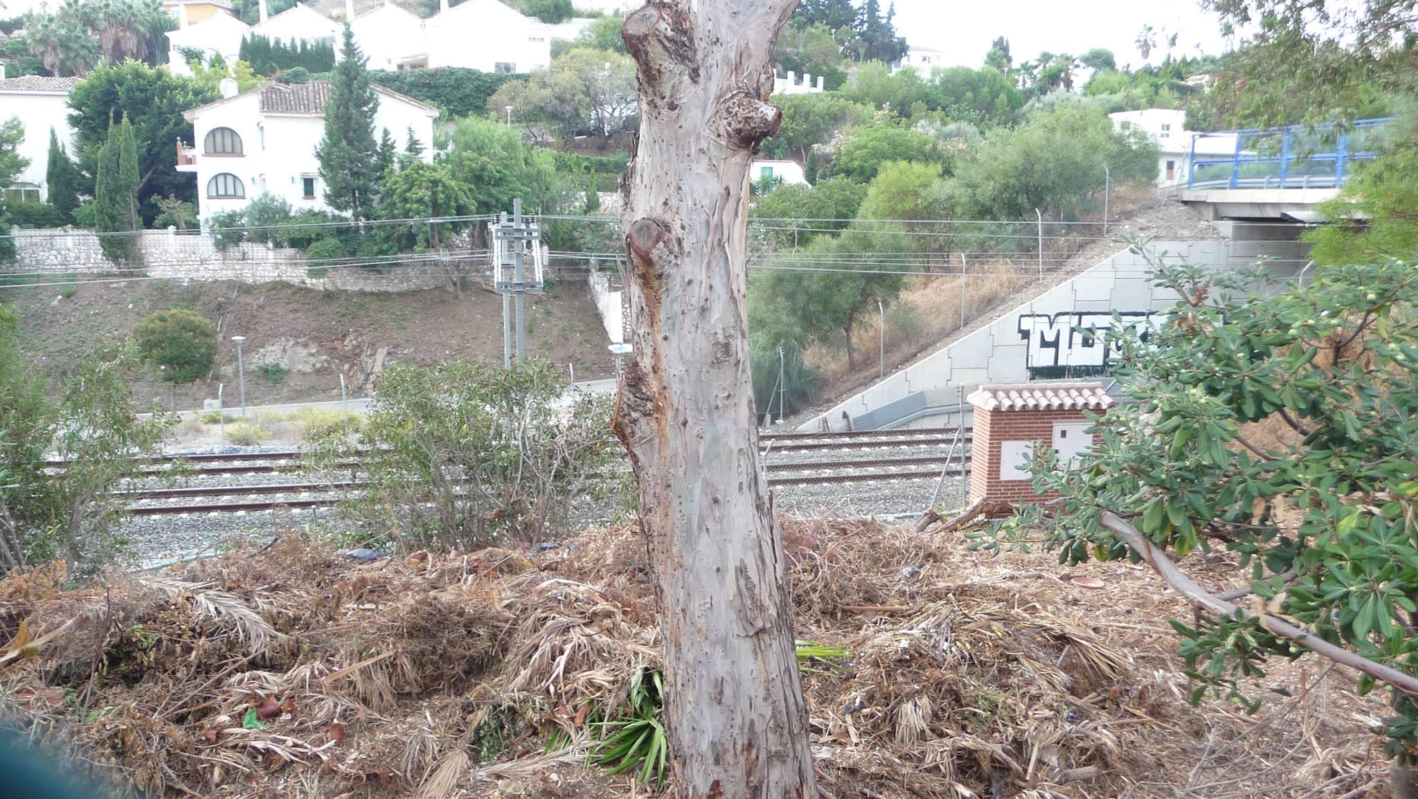 Málaga. La Asociación de Vecinos de Torremuelle denuncia la existencia de dos vertederos 'ilegales' en Benalmádena