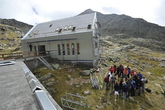 La Fundación del Hidrógeno monitoriza el consumo de energía en refugios de montaña