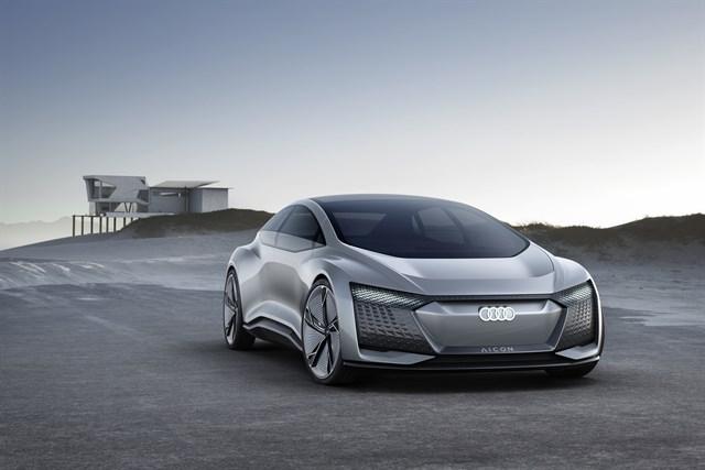 Audi desvela en Frankfurt un prototipo eléctrico autónomo sin volante ni pedales