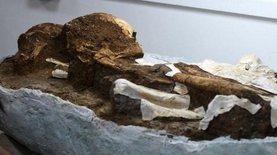 El salvador: Descubren dos cuerpos de 2500 años