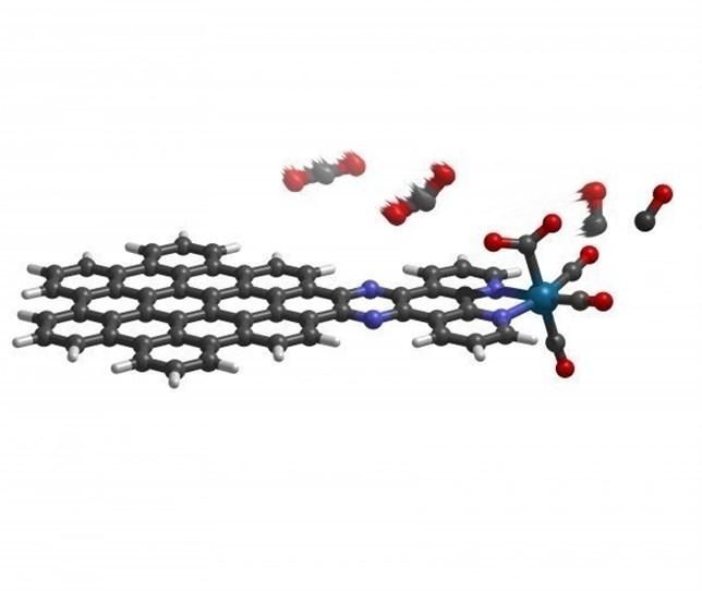 Una 'hoja' molecular almacena energía solar reciclando CO2
