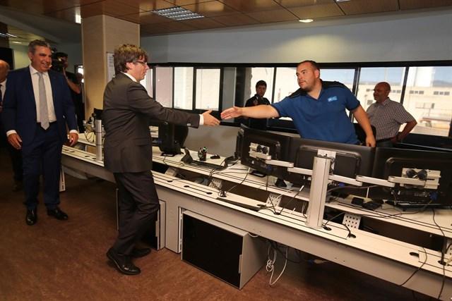 Nueva planta del Consorci d'Aigües de Tarragona un valor añadido a la zona