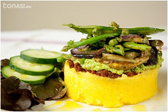 'Recetas Ecológicas': Polenta con verduras