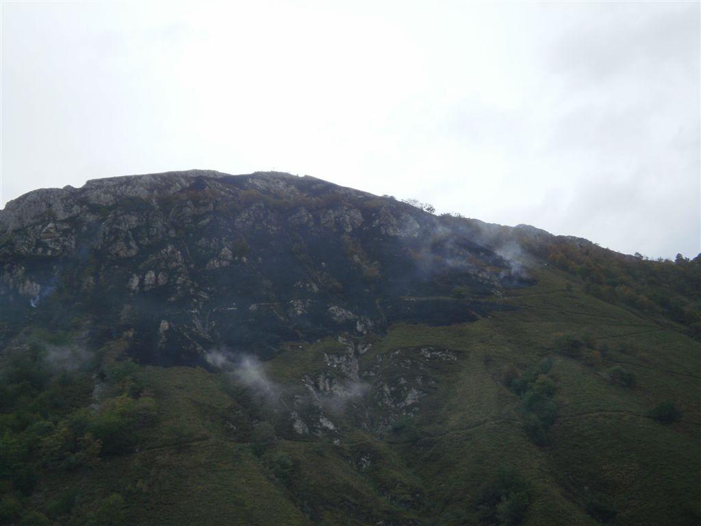 Otro incendio forestal en el Parque Nacional de Picos de Europa