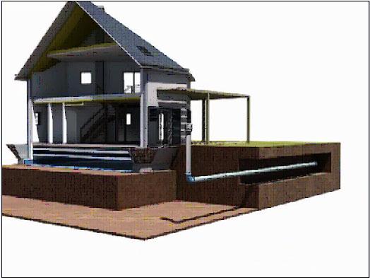 PAM ELIXAIR, el sistema de intercambiadores de calor bajo tierra para construcciones eficientes y ecológicas