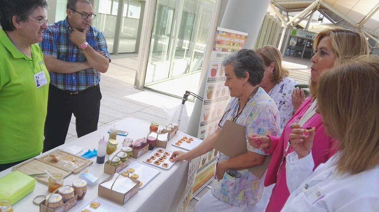 Jornada ecológica del CAERM en el hospital Santa Lucía de Cartagena