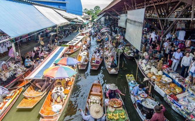 Un leve aumento del calentamiento dejaría, por ejemplo, gran parte de Bangkok bajo el agua en las próximas dos décadas