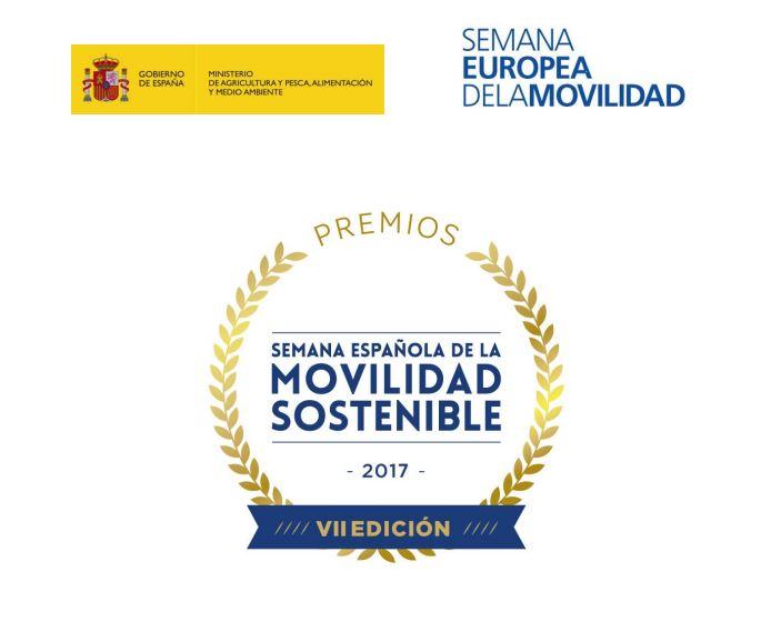 El próximo 6 de septiembre concluye el plazo para la presentación de candidaturas a los VII Premios de la Semana Española de la Movilidad Sostenible 2017