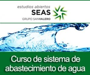 Curso de sistemas de abastecimiento de agua potable