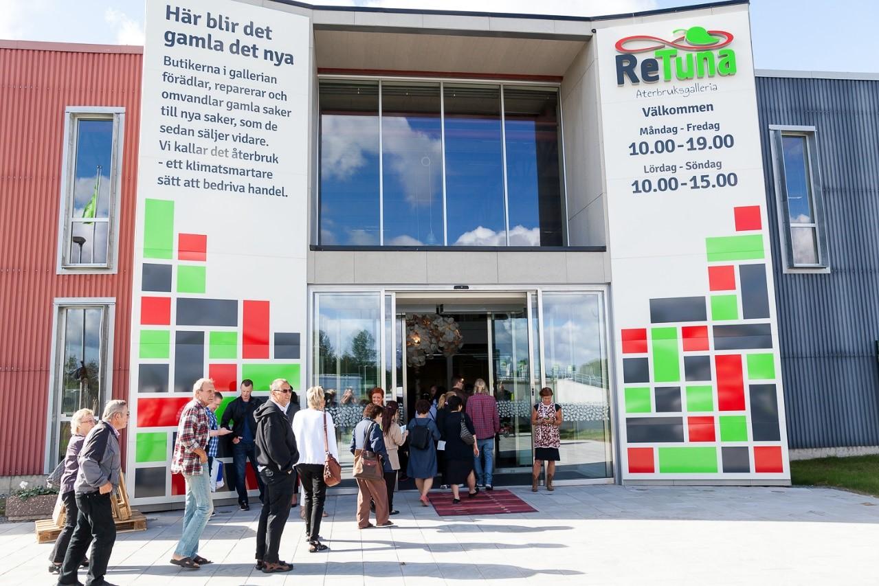El primer Centro Comercial de productos reciclados del mundo