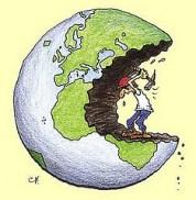 Si la Tierra fuese un banco…