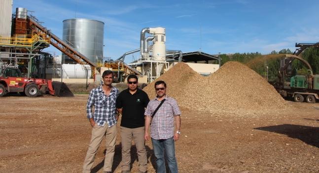 Investigadores del Instituto Forestal Chileno comprueban en España exitosa implementación de energías limpias renovables