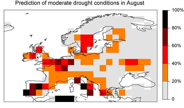 Propuesta para desarrollar un sistema predictivo de sequía en Europa
