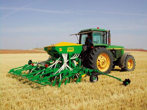 Los terrenos de cultivo de siembra directa en Ávila se comportan como sumideros de carbono