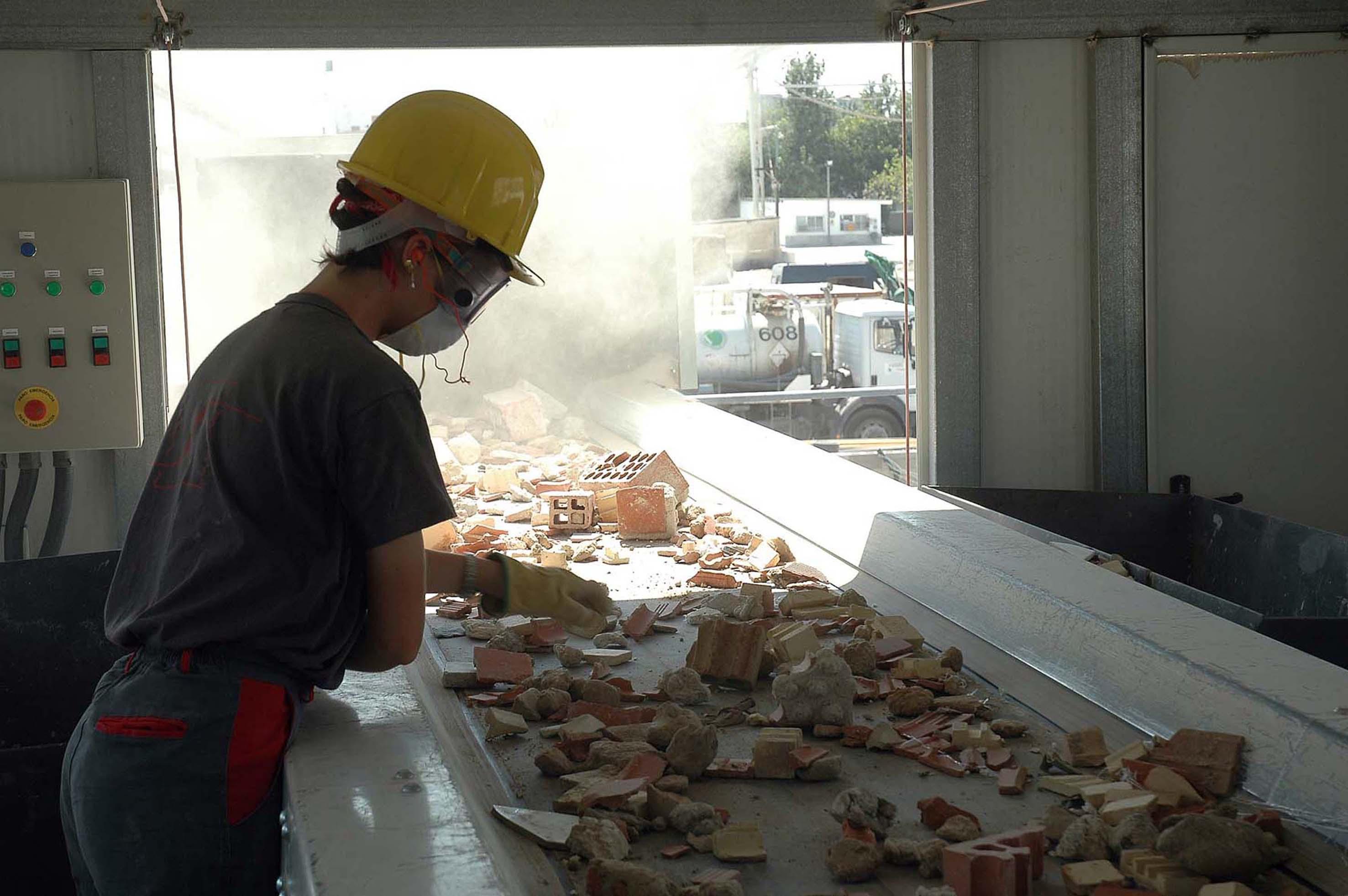 Secopsa utiliza áridos reciclados como alternativa ambiental en sus proyectos de construcción