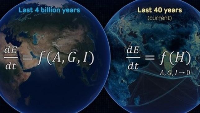 Los humanos son 'infinitamente' más destructivos con el planeta que las fuerzas naturales