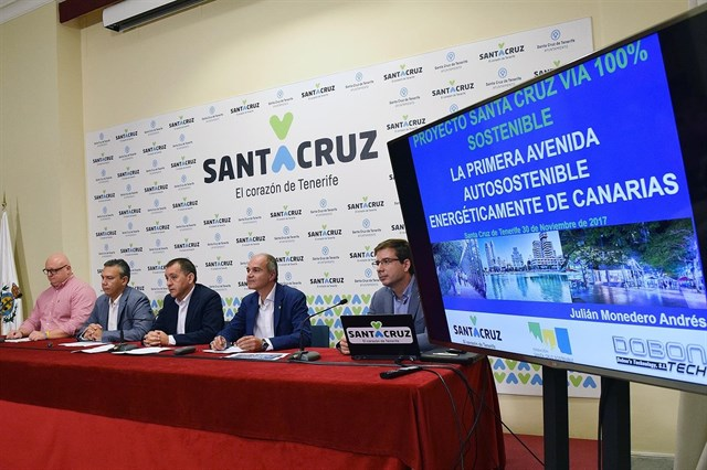 La Avenida de Anaga será en 2018 la primera vía de Santa Cruz de Tenerife 100% sostenible