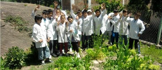 Argentina: Un programa educativo de San Luis instala huertas en las escuelas
