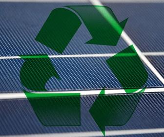 Los materiales de los paneles fotovoltaicos son reciclables