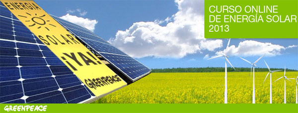 Comienza la décima edición del curso solar de Greenpeace
