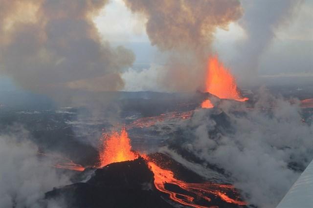 Un volcán islandés revela el rol de los aerosoles en el cambio climático