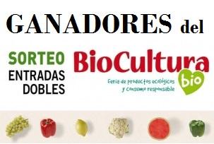 Ganadores del sorteo 50 entradas dobles para BioCultura Madrid 2015