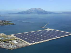 Largest solar power plant in Japan, operational