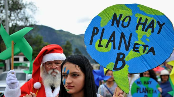 NO hay planeta B, NO hay plan B