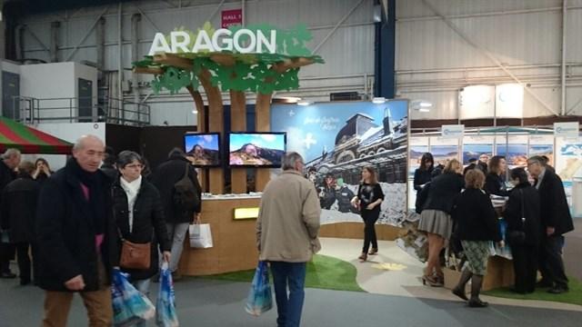 Aragón se promociona como destino turístico de naturaleza en varias ferias