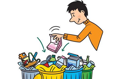 El país del reciclaje