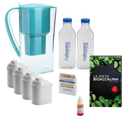 Pack alcalinidad 'Alkanatur Drops', el agua más saludable a tu alcance