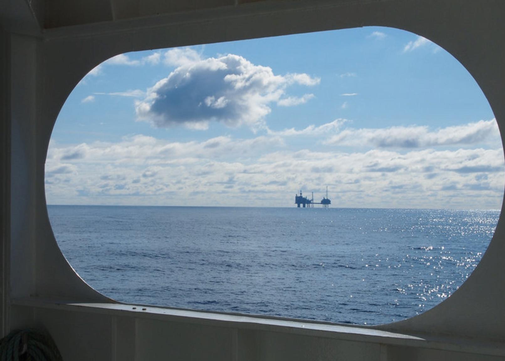 Metano 'fugitivo' en el Mar del Norte