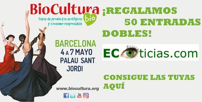 ECOticias.com regala 50 entradas dobles para asistir a BioCultura Barcelona 2017