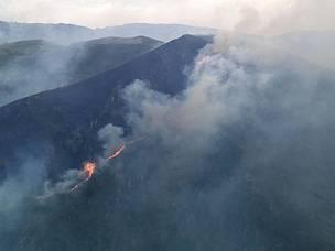 Asturias, incendiarios incontrolados por políticas erróneas del Principado