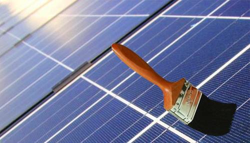 Pintura que genera energía solar