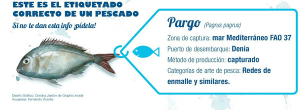 Por un etiquetado correcto del pescado