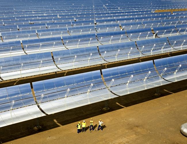 España podría abastecerse de toda la electricidad que consume con centrales termosolares