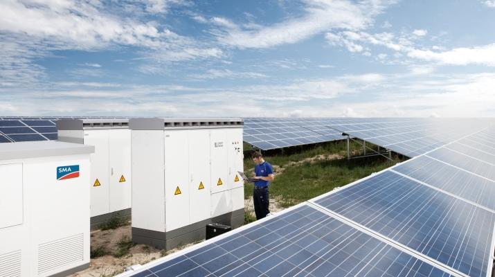 SMA participa en un proyecto fotovoltaico de 100 megavatios en Canadá